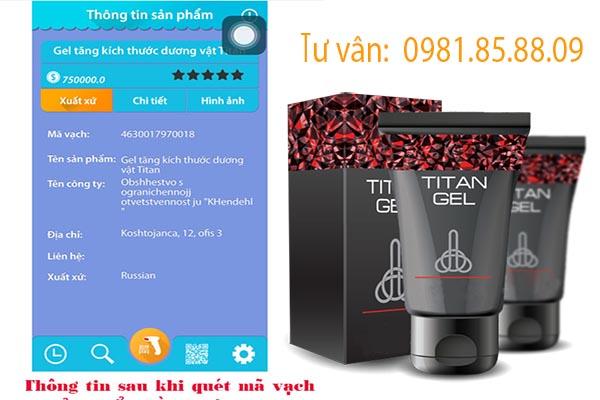 Phân biệt gel titan nga chính hãng và hàng nhái