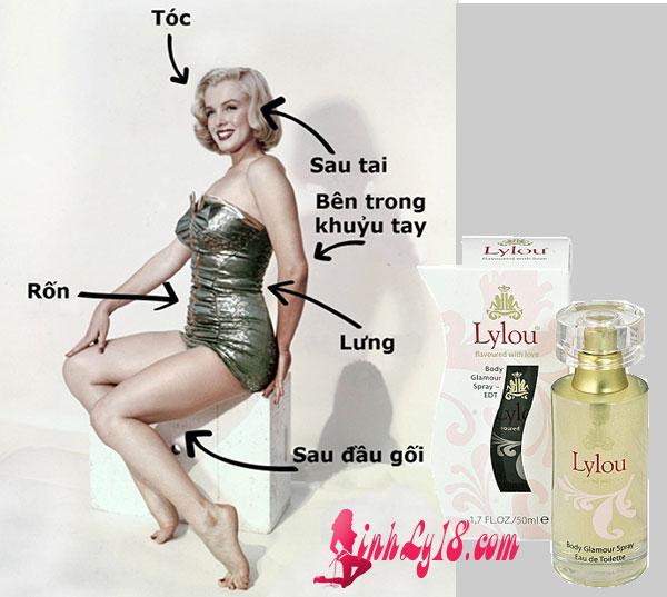 cách sử dụng nước hoa kích dục nữ