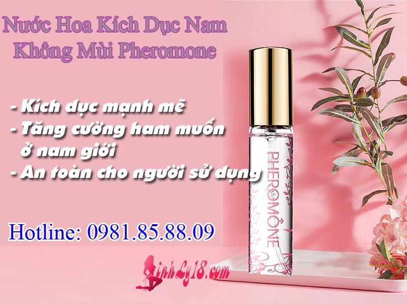 Nước hoa kích dục nam không mùi Pheromone cực mạnh