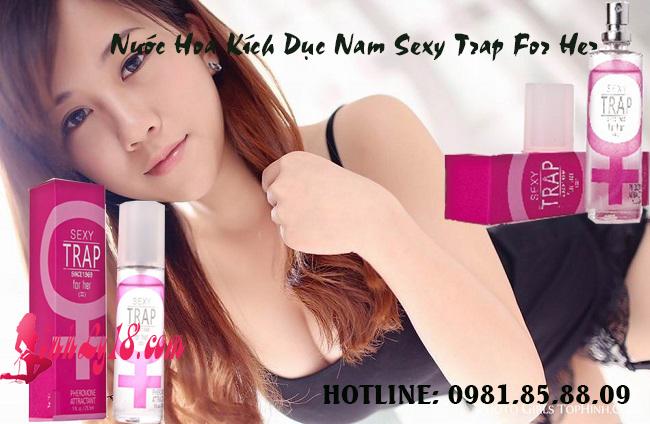 Nước Hoa Kích Dục Nam Sexy Trap For Her