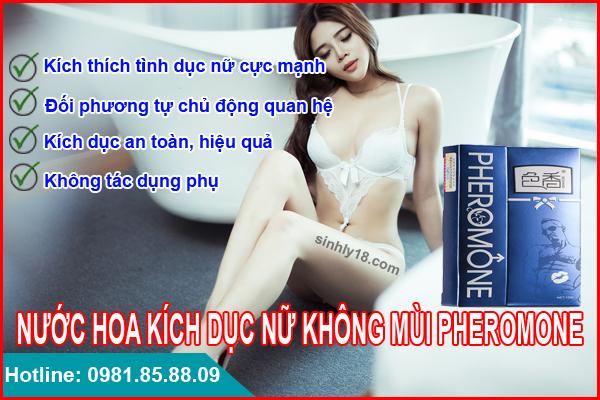 nước hoa kích dục nữ không mùi Pheromone cực mạnh