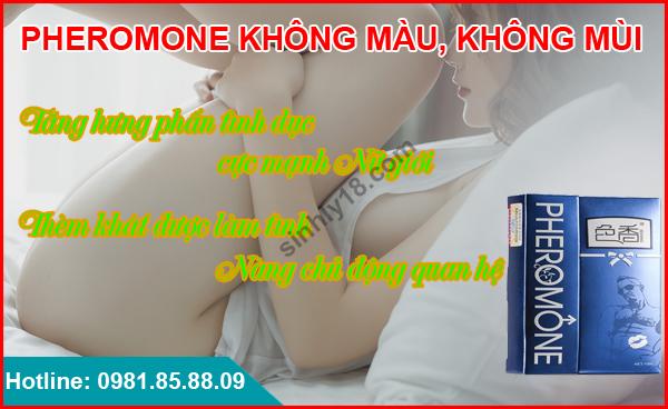 nước hoa kích dục nữ không mùi Pheromone