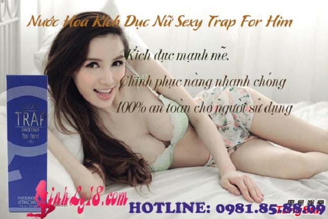 Nước Hoa Kích Dục Nữ Sexy Trap For Him